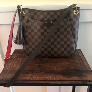 Louis Vuitton South Bank Damier Ebene Besace